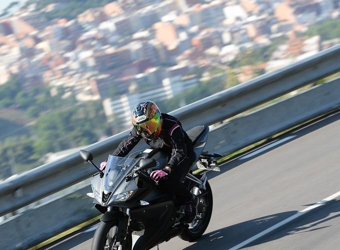 Yamaha YZF R125 w gorach