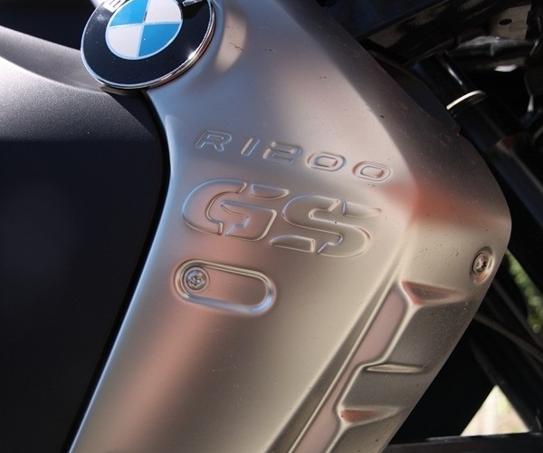 BMW R1200GS rozpoznaj