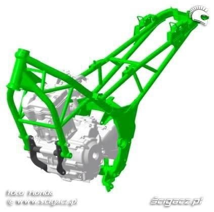 Rama Honda CBR250R 2011
