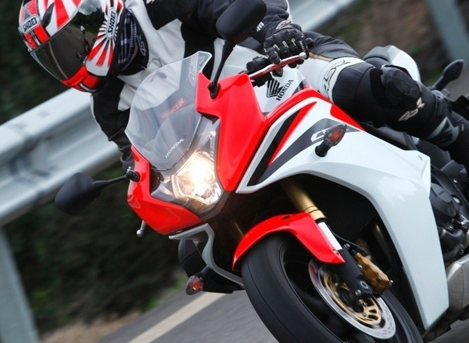 Honda CBR600F 2011 barierki