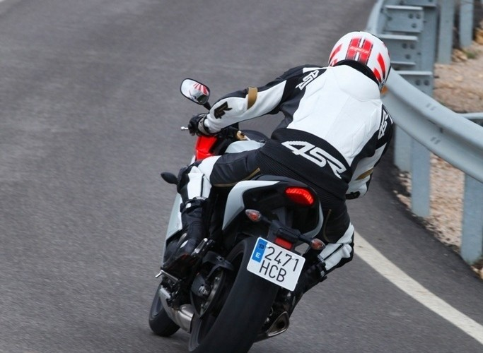 na drodze Honda CBR600F