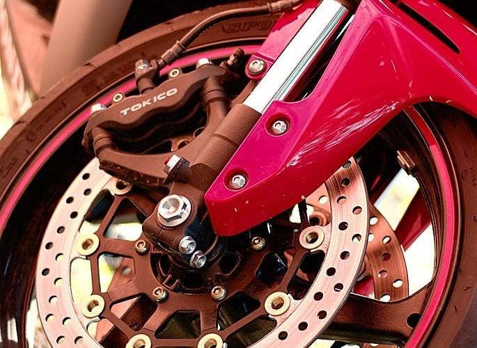 Honda CBR front brake
