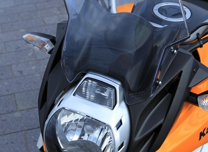 Kawasaki Versys przednia lampa