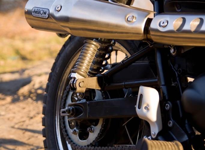 tylna sekcja Triumph Scrambler 2011