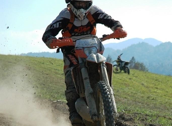 KTM EXC250 2010 cala na przod
