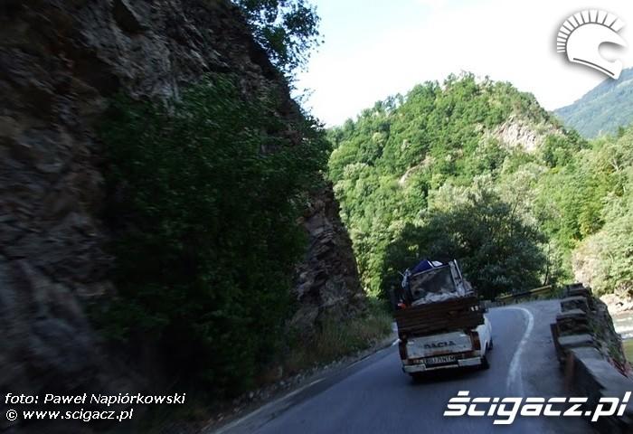 dacia Bulgaria i Rumunia na motocyklach - be hardcore