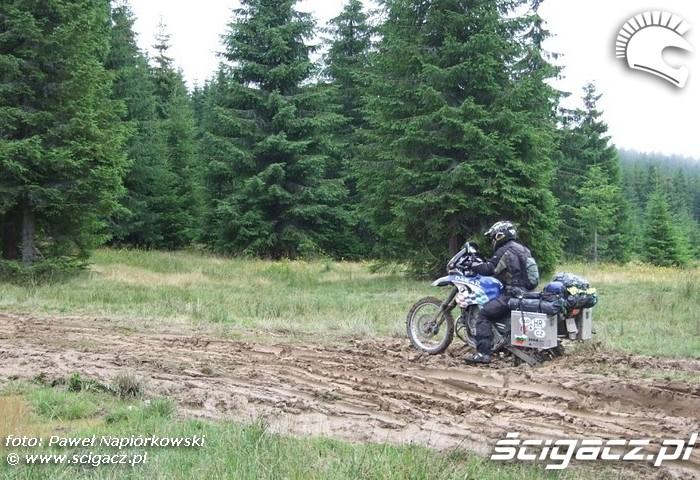 kiepskie warunkil Bulgaria i Rumunia na motocyklach - be hardcore