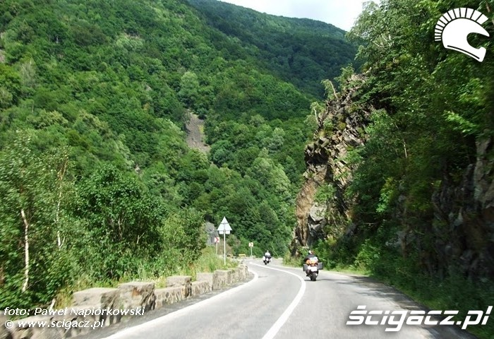 klif Bulgaria i Rumunia na motocyklach - be hardcore