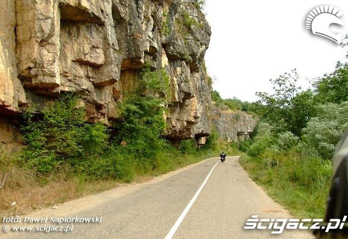klify Bulgaria i Rumunia na motocyklach - be hardcore