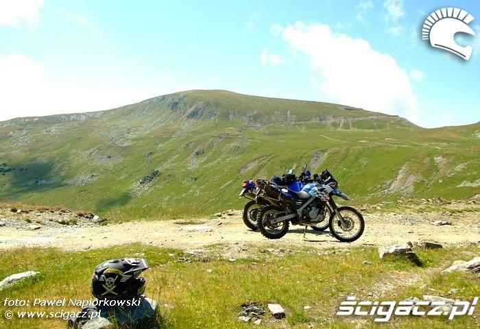 krajozbraz Bulgaria i Rumunia na motocyklach - be hardcore