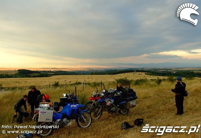 masz pole Bulgaria i Rumunia na motocyklach - be hardcore