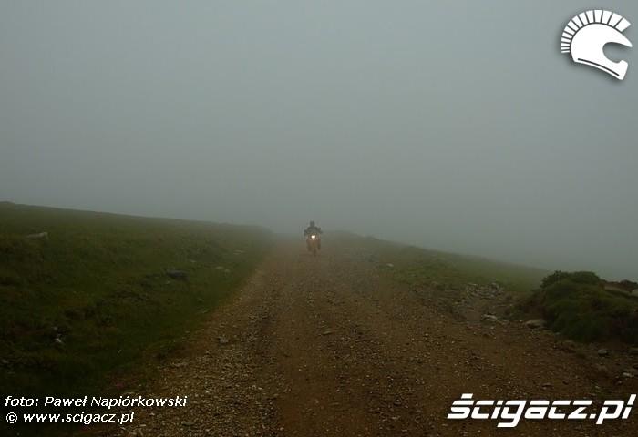 mgla Bulgaria i Rumunia na motocyklach - be hardcore
