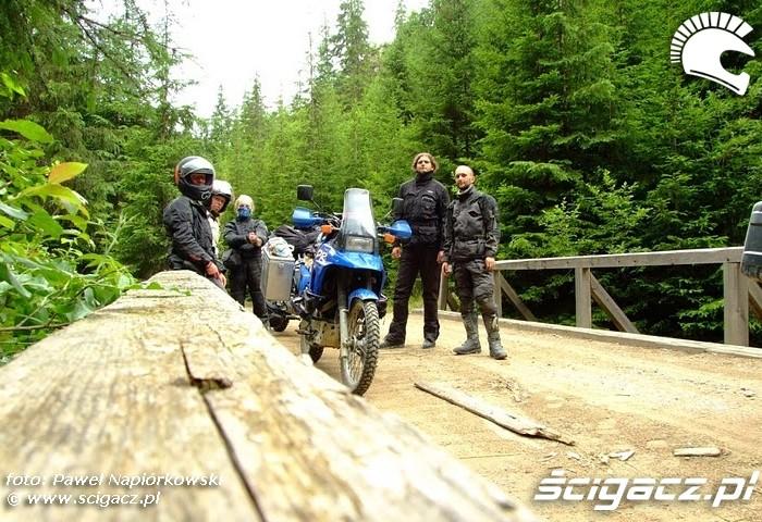 na moscie  Bulgaria i Rumunia na motocyklach - be hardcore
