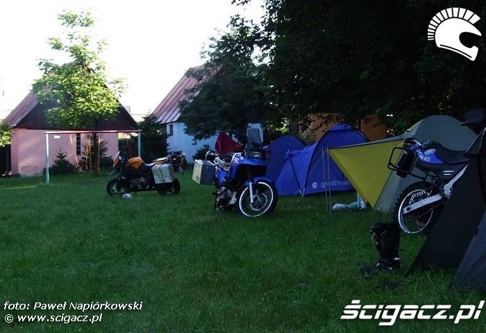 namioty Bulgaria i Rumunia na motocyklach - be hardcore