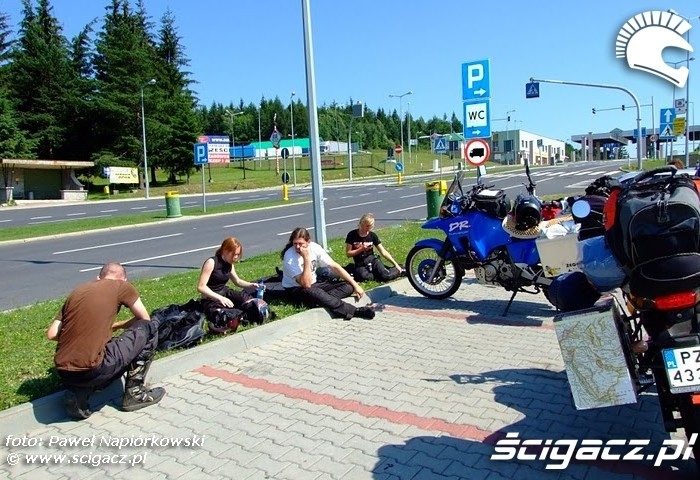 przystanek WC  Bulgaria i Rumunia na motocyklach - be hardcore