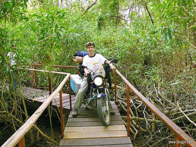 12 Przeprawa przez mostek - Kostaryka