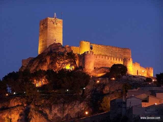 28 Zamek w Biar - Hiszpania