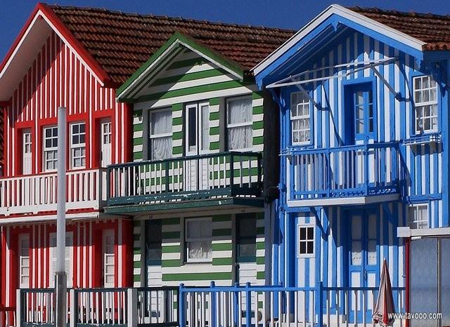 36 Domy w Barra - polnocna Portugalia