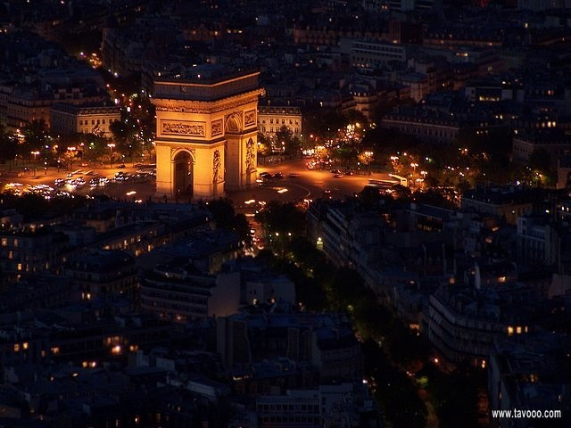 41 Widok z wiezy Eiffla - Paryz