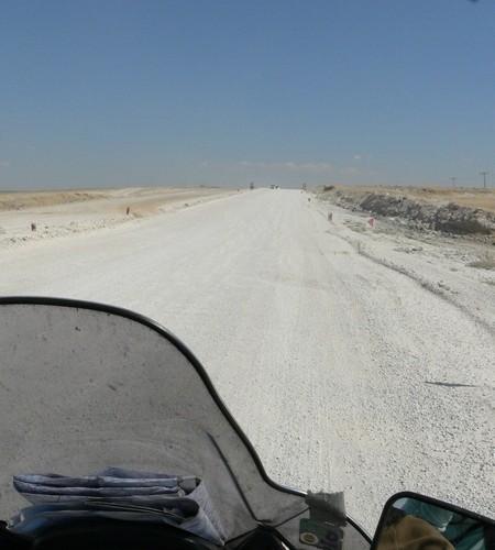 remont drogi 140 skuterem do turcji
