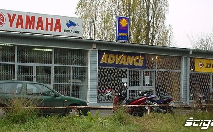 Salon Uhma Bike Piaseczno tuz po otwarciu