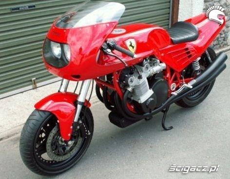 motocykl ferrari 1995