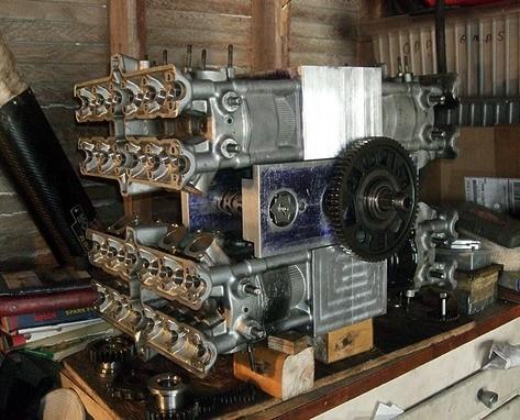 budowa silnika z