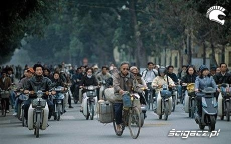Wietnam ruch uliczny