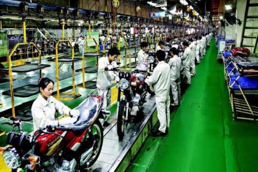 Chinskie motocykle produkcja