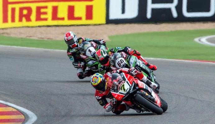 SBK Race Aragon z