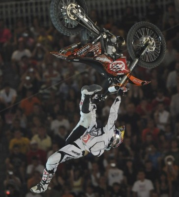 Mat Rebeaud action RedBullXFighters Madryt photo Andy Schaad redbullphotofiles