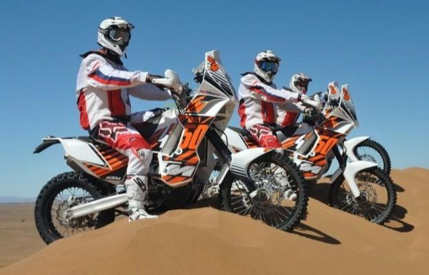 ekipa Nasz Dakar na wydmach w Maroko z