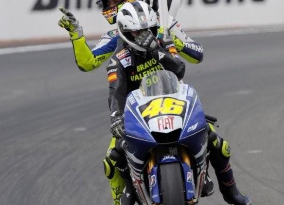 Yamaha podium Le Mans