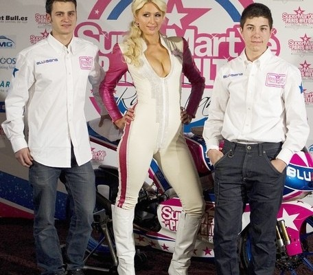 team Paris Hilton Super Martxe VIP
