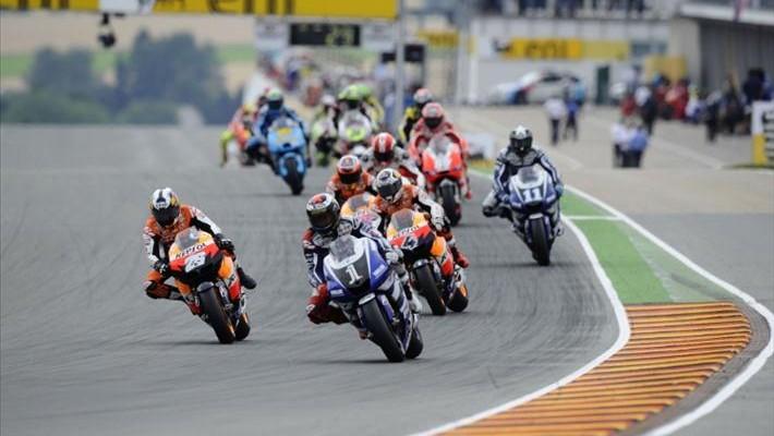 Sachsenring MotoGP z