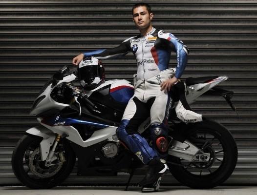 Leon Haslam pomalowany w barwyy BMW z