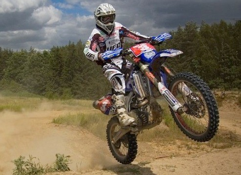 jonny aubert yamaha kwidzyn cross test z