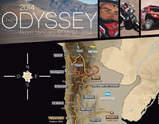Trasa Dakaru z