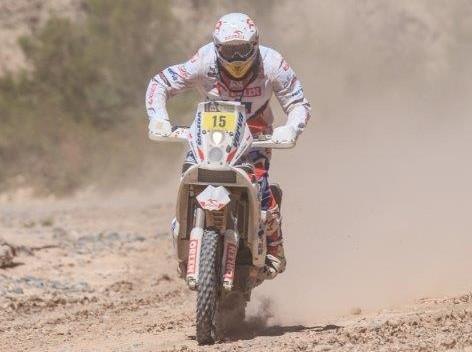 Dzien 4 Kuba Przygonski Dakar 2014 z