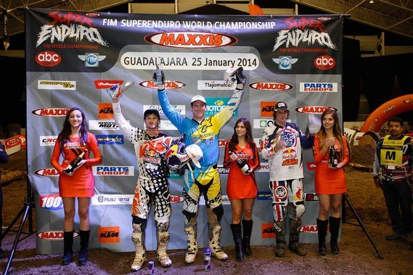 Podium Superenduro Mexico 2014  z