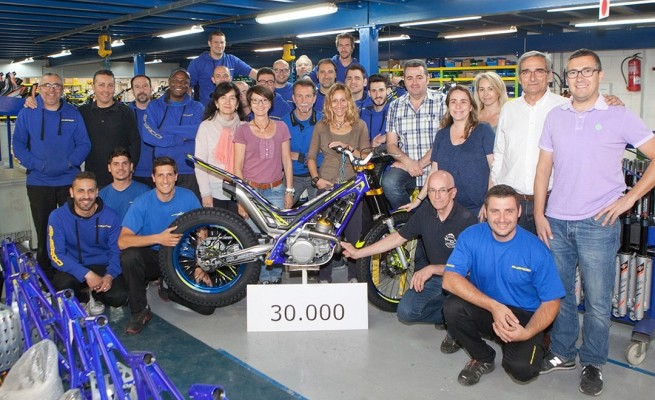 Sherco motorcycle factory  z