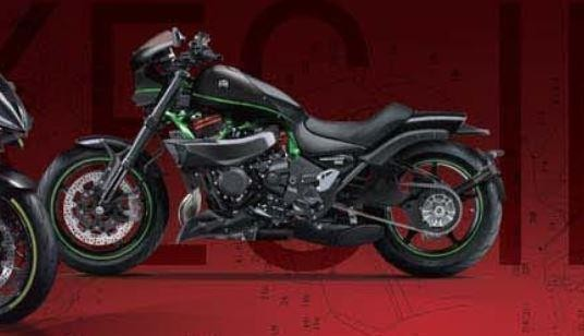 Kawasaki Vulcan H2 Young machine z