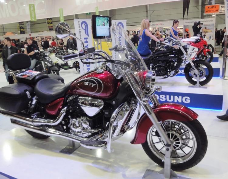 hyosung 4 ogolnopolska wystawa motocykli i skuterow
