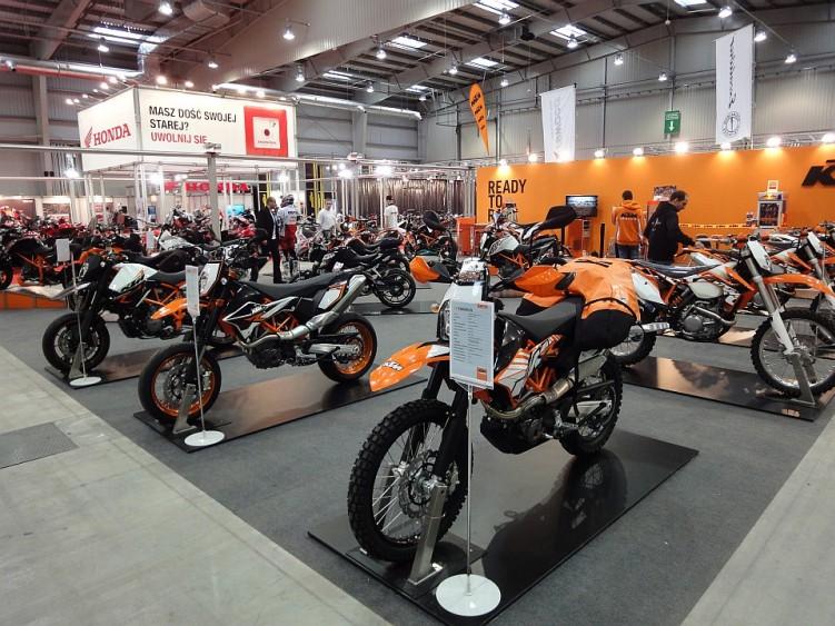ktm stoisko 4 ogolnopolska wystawa motocykli i skuterow 2012