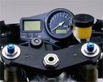 Yamaha R1, pr�dko�ciomierz, deska rozdzielcza, zegary, kierownica