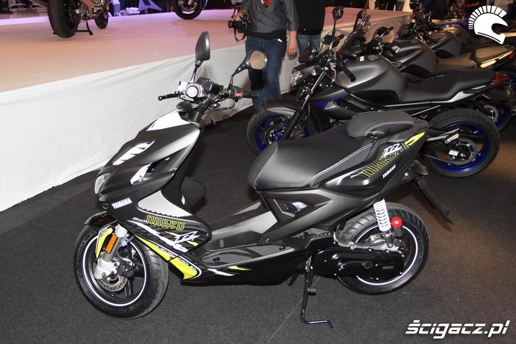 Revista Scooter: Nuevos Yamaha Aerox R 50 y Aerox Naked R
